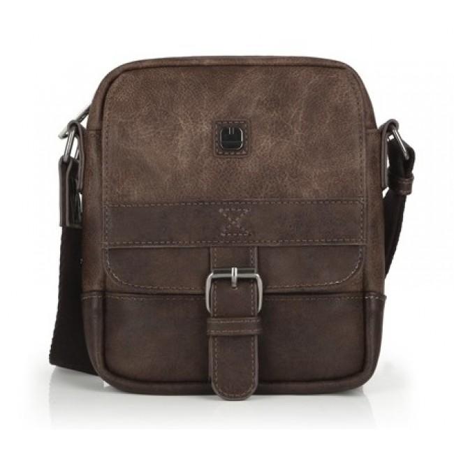 Bolsa Homem Pequena Tiracolo Gabol FLAT Ref. 533801-02