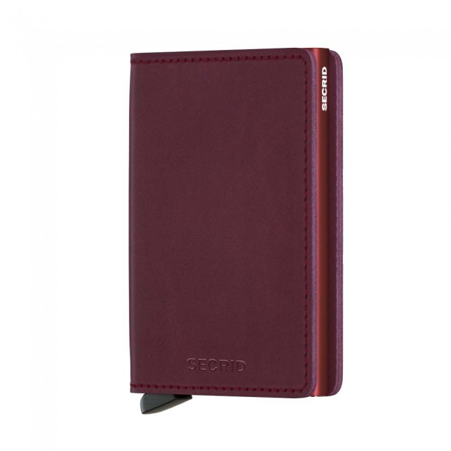 Slimwallet Original Bordeaux Ref. SO-Bordeaux