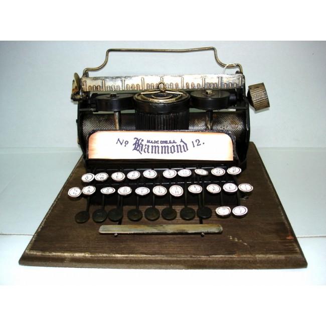 Réplica de Máquina de Escrever