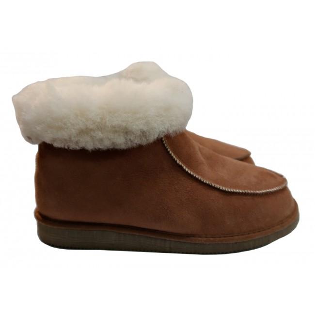 botas de pele de ovelha
