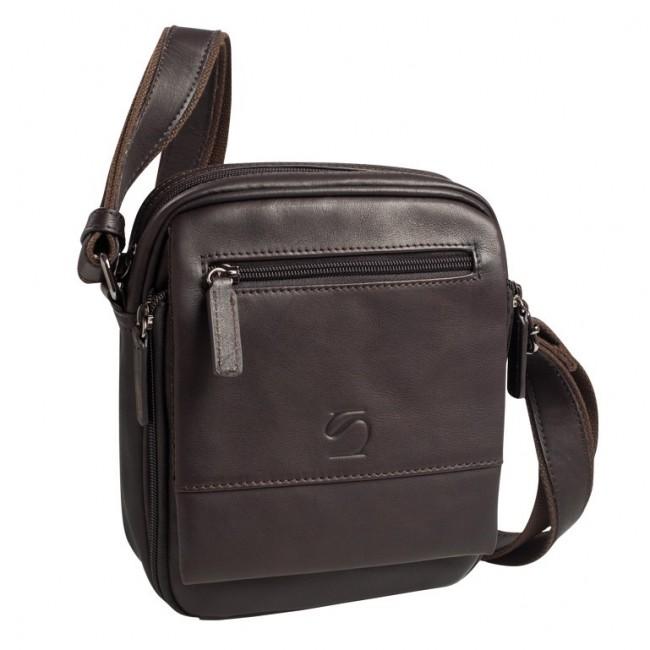 Matties Bags - Bolsa de Homem com tiracolo de Pele