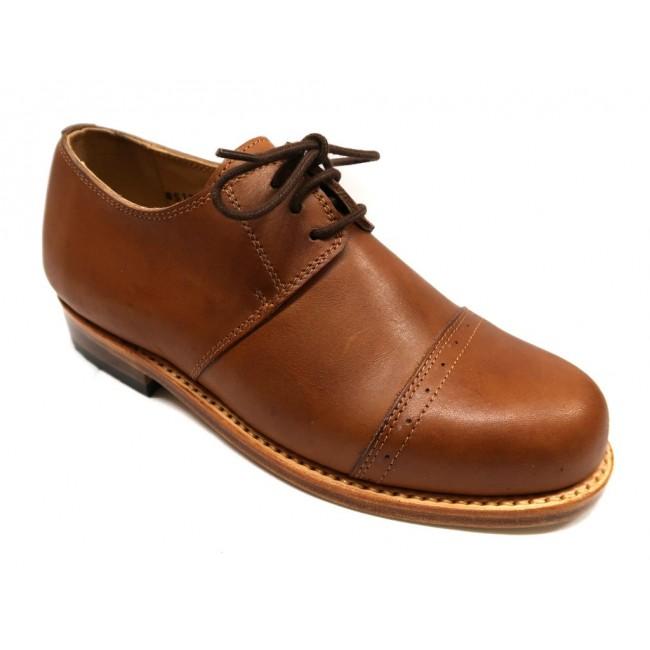 Sapatos femininos de couro feitas à mão