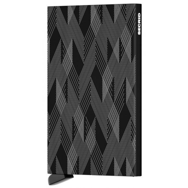 Secrid Cardprotector Laser ZigZag Ref - CLa-Zigzag Black