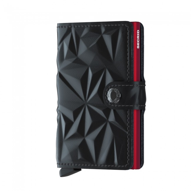 CARTEIRA SECRID MINIWALLET PRISM BLACK-RED Ref. MPr-Black-Red