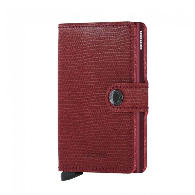 CARTEIRA MINIWALLET SECRID RANGO RED BORDEAUX