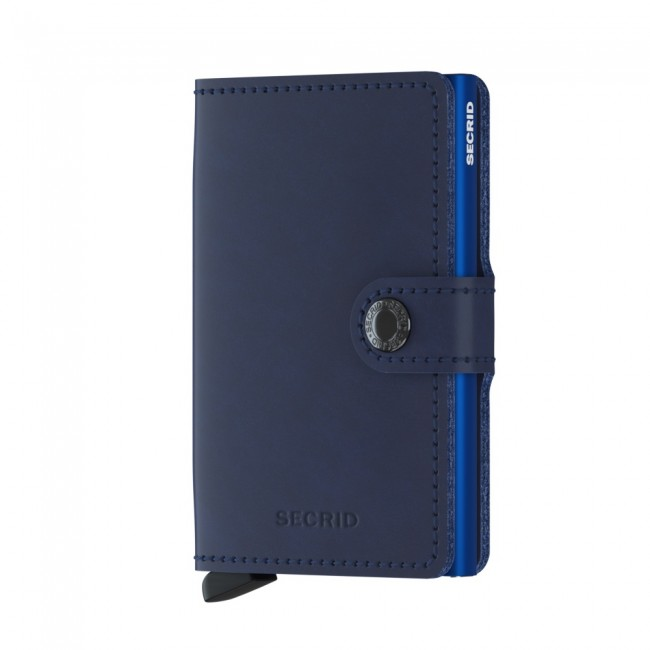 CARTEIRA MINIWALLET SECRID ORIGINAL NAVY BLUE