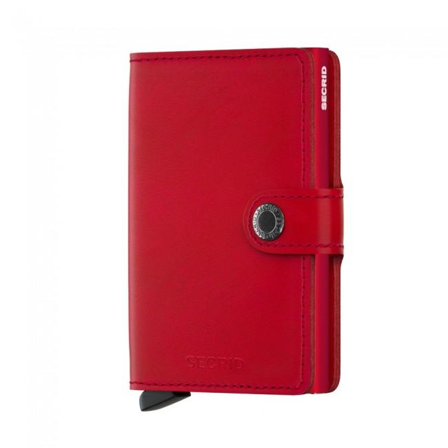 CARTEIRA SECRID MINIWALLET ORIGINAL RED RED Ref. M-Red-Red