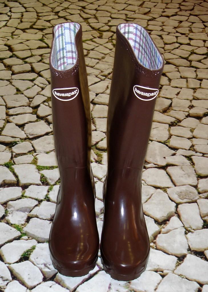fc6239fbe45 Botas de Borracha - Galochas Havaianas