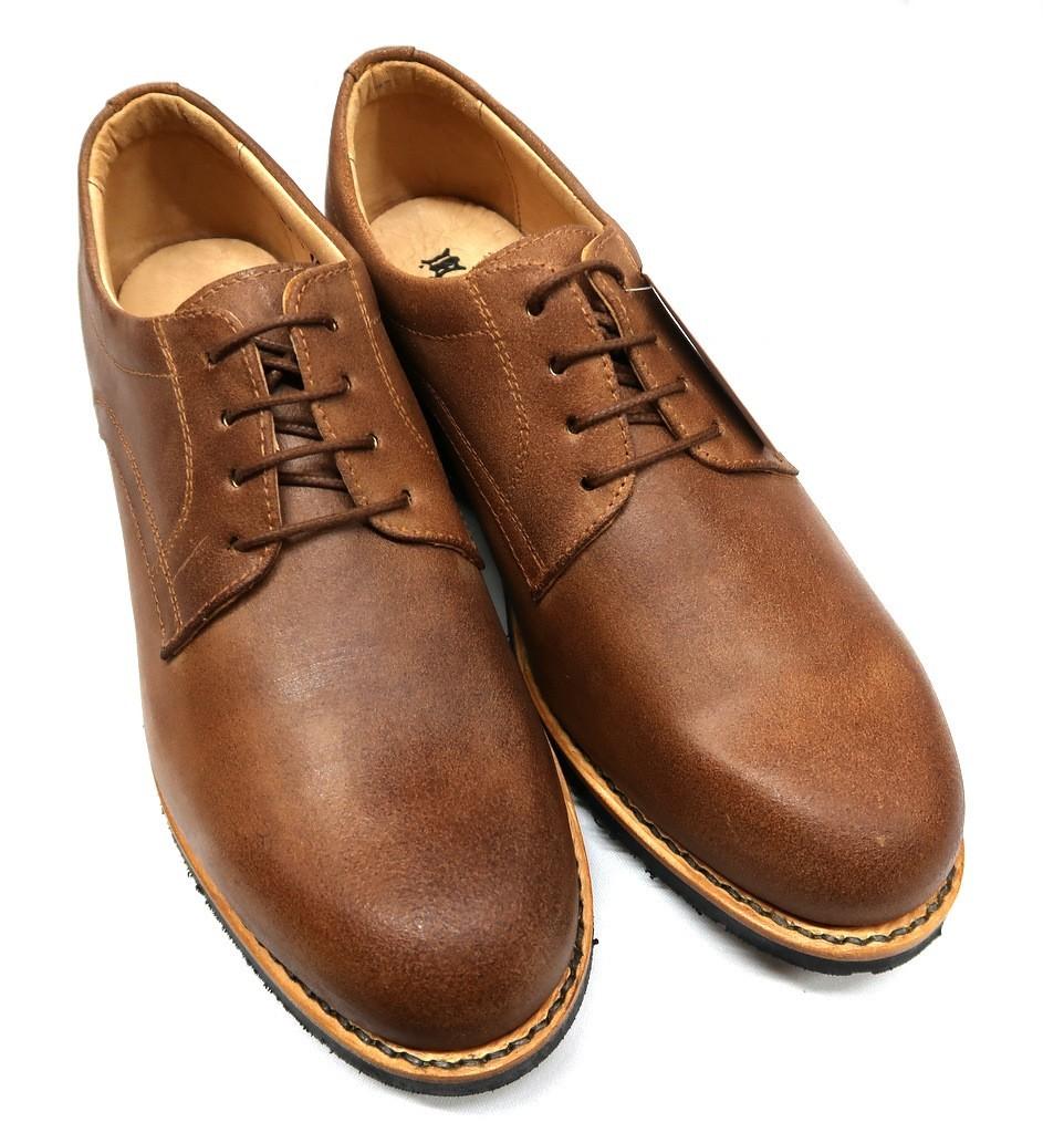 Sapatos Homem Em Pele