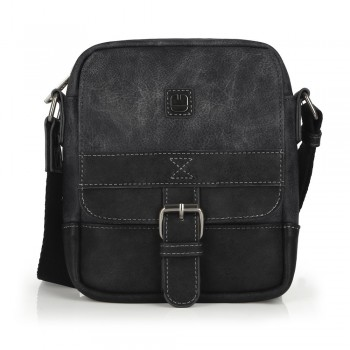 Bolsa Homem Pequena Tiracolo Gabol FLAT Ref. 533801-01