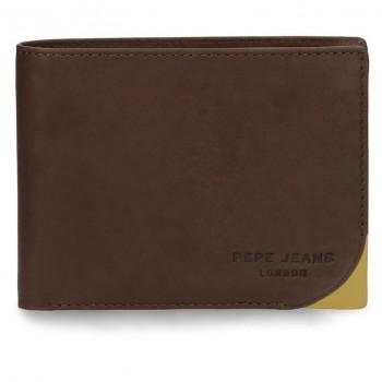 Carteira Pepe Jeans Porta-cartões notas e moedas