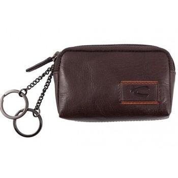 Camel Active - bolsa para chaves e moedas em pele