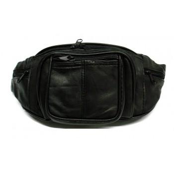Bolsa de cintura em Pele de retalhos