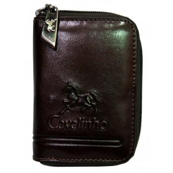 Carteira Porta-moedas e Cartões Cavalinho