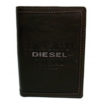 Carteira de Couro Diesel