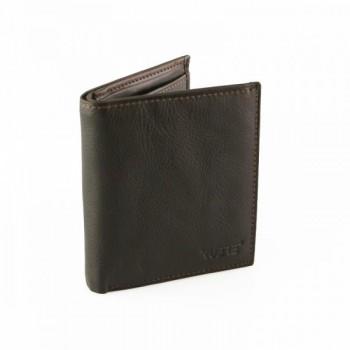Carteira de Pele Porta notas moedas e cartões