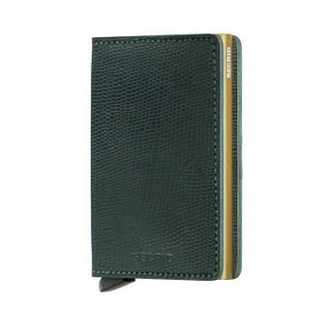 Carteira Secrid - SLIMWALLET Rango Green Gold