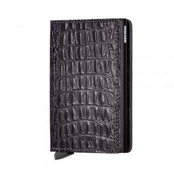 CARTEIRTA SECRID - SLIMWALLET NILE BLACK