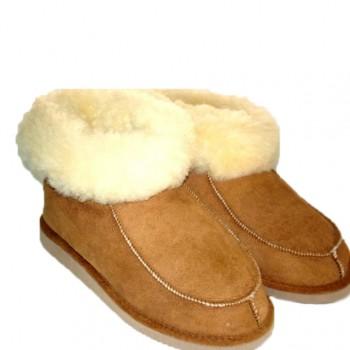 pantufas-bota-pele-de-ovelha