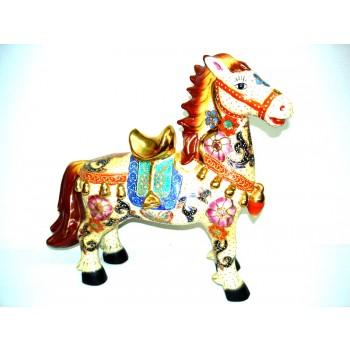 Cavalo Porcelana