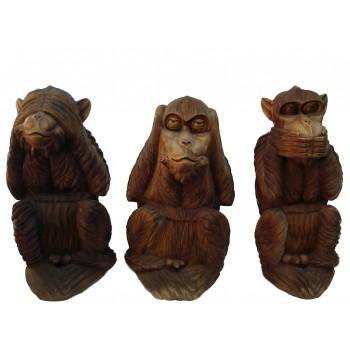 Os Tês Macacos