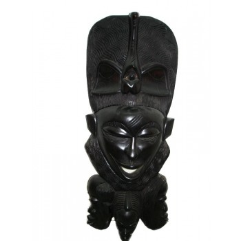 Máscara Africana de Madeira