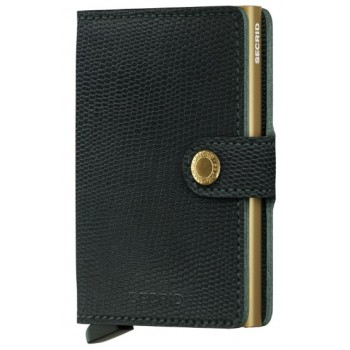 CARTEIRA MINIWALLET SECRID RANGO GREEN GOLD