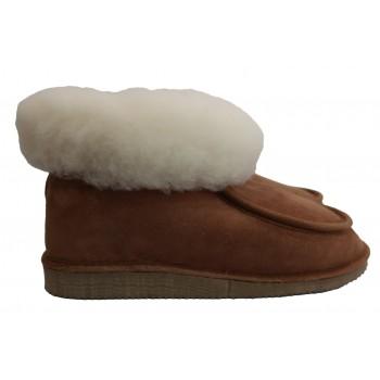 pantufas pele de ovelha