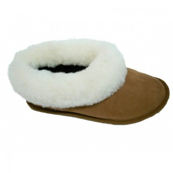 Pantufas de Pele de ovelha