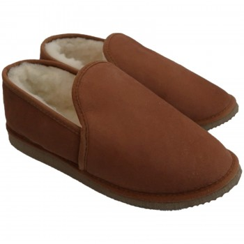 pantufas de pele de ovelha, pantoufles peau de mouton