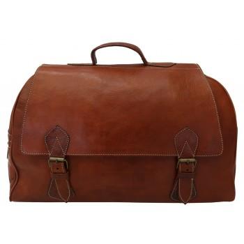saco de viagem couro