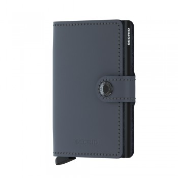 SECRID MINIWALLET MATTE GREY BLACK
