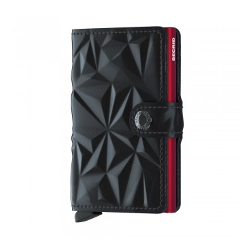 SECRID CARTEIRA MINIWALLET PRISM BLACK-RED