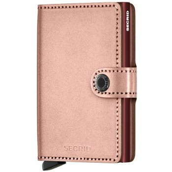 CARTEIRA SECRID - MINIWALLET Metallic Rose