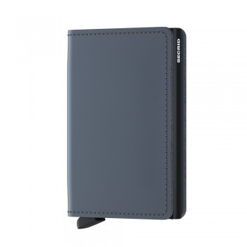 SLIMWALLET SECRID MATTE GREY-BLACK