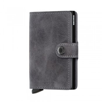 CARTEIRA MINIWALLET SECRID VINTAGE GREY-BLACK