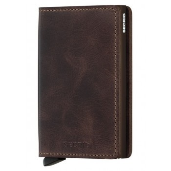 SLIMWALLET SECRID VINTAGE CHOCOLATE
