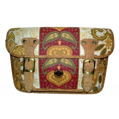 Bolsa de Senhora de Chita e Cortiça