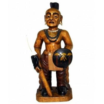 Índio em Madeira