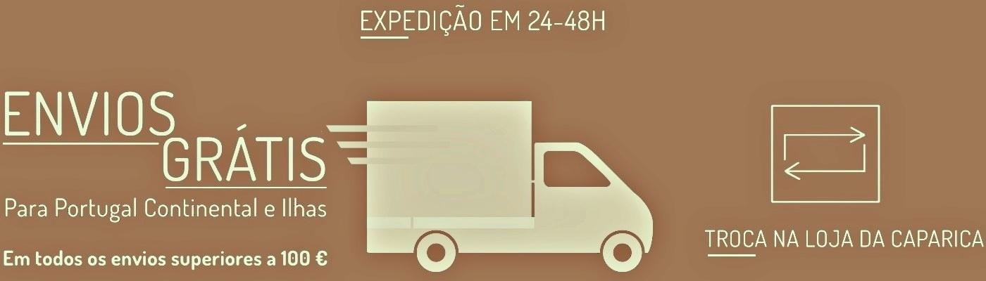 Loja das Peles Entregas grátis para Portugal Continental e Ilhas