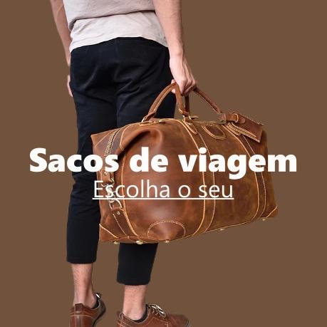 loja das peles sacos de viagem de couro