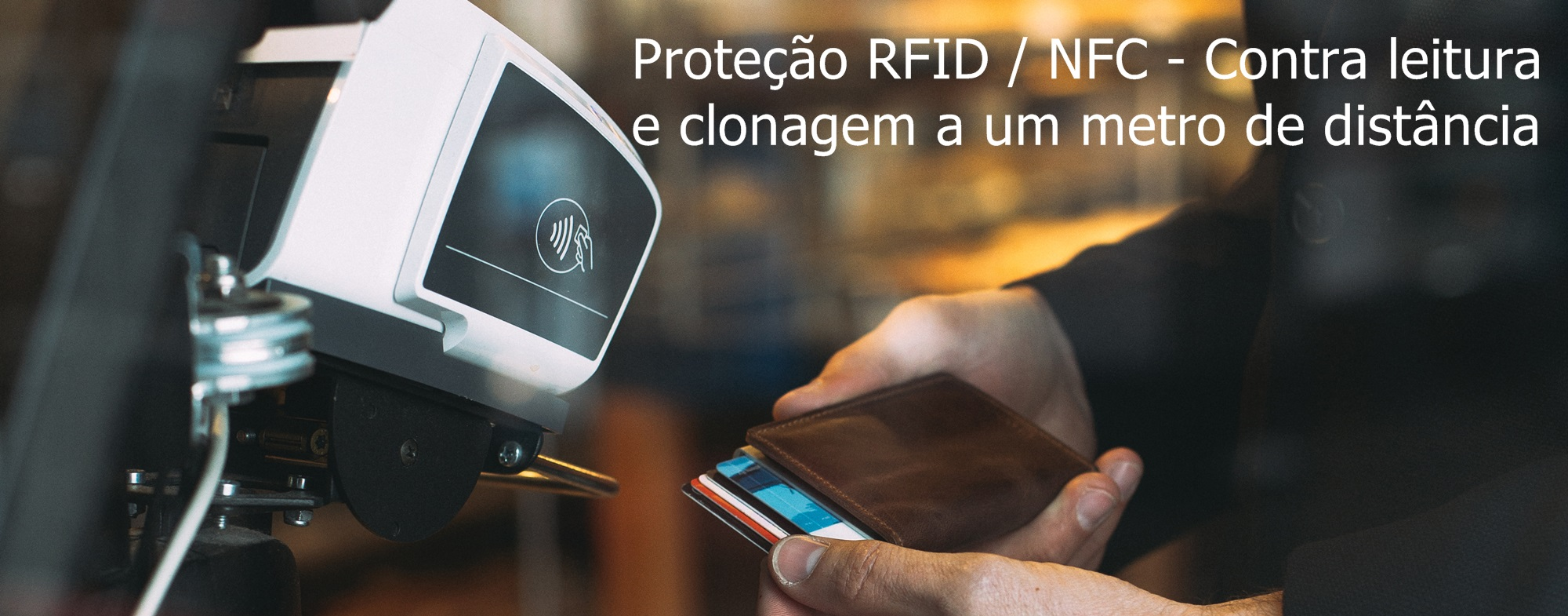 Secrid Online Portugal prtoteção RFID / NFC